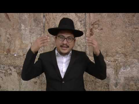 Jaakov Baruch from Mando, Indonesia, Kotel, Jerusalem, Israel: interview
