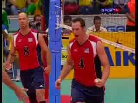 BRASIL 0 X 3 USA 3ºSET SEMIFINAL WORLD LEAGUE 2008