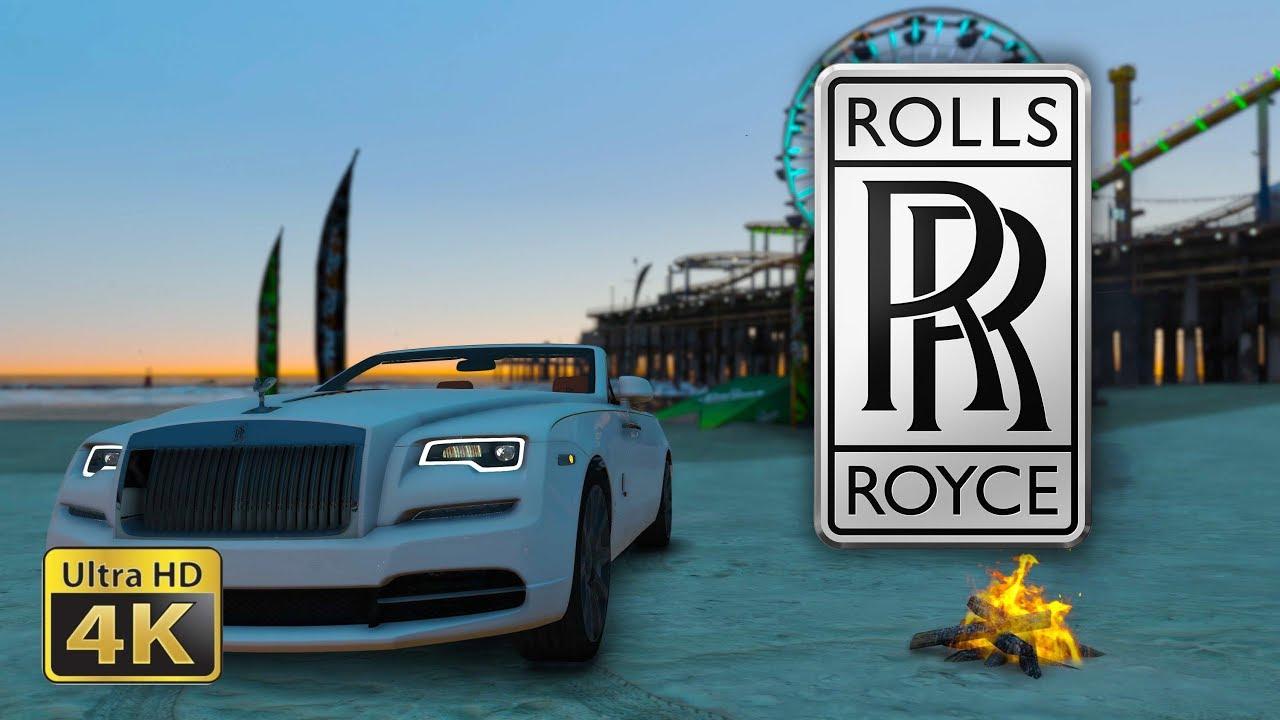 2017 Rolls Royce Dawn Gta 5 Live Wallpaper Youtube