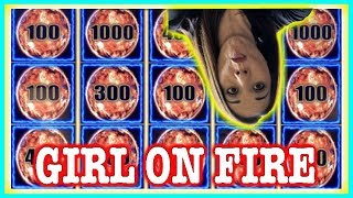 💥SLOT QUEEN GRINDS ( 🤭) HUNTING FOR THAT BIG WIN ON TIKI FIRE 🔥