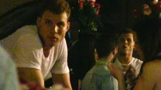 Blake Griffin Parties Hard At Greystone Manor After Clippers Beat Lakers