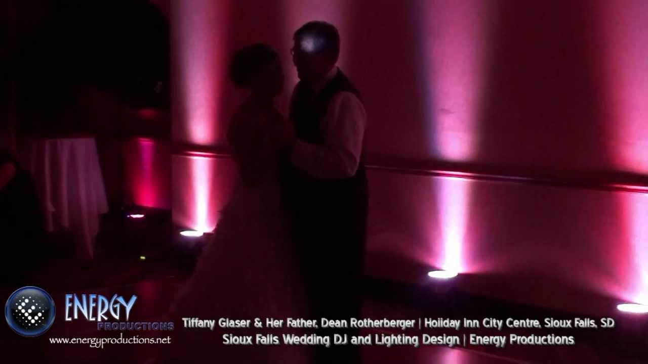 Epic Wedding Reception Father Daughter Dance