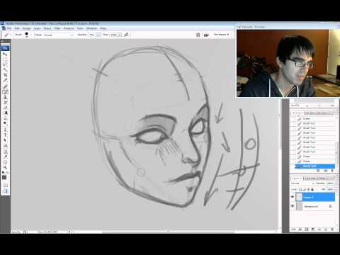 The KNKL SHOW Episode #31: How to draw Faces PART2