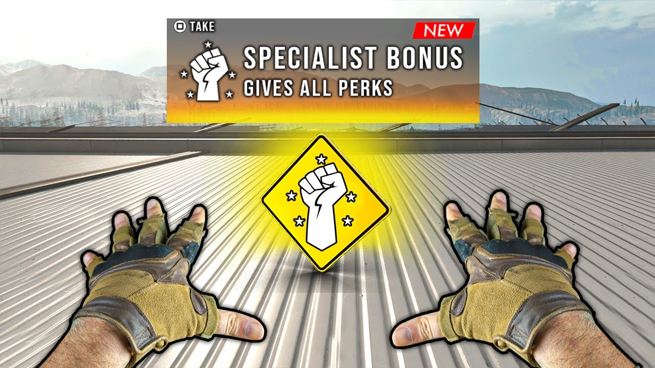 *NEW* Specialist BONUS (Warzone Highlights and Funny Moments #144)