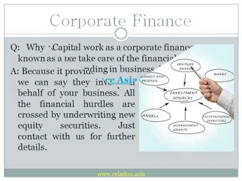 Selecting A Best Corporate Finance Industry In Asia-Pacific