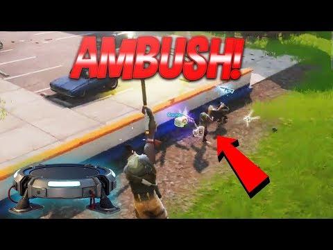 Launch Pad Ambush! NEW Fortnite Battle Royale Launch Pad Update!