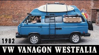 Speedhut Presents: Road Trip Of A Lifetime | 1982 VW Vanagon Westfalia | Interview with Shane Jordan