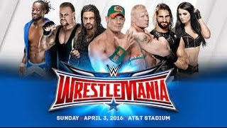 WWE WRESTLEMANIA 32 LIVE PPV!!!!!! WATCH LIVE!!! APRIL 3/2016(, 2016-04-03T22:49:13.000Z)