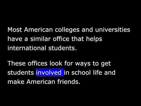VOA Special English - Studying in America - 26 -  Life on Campus