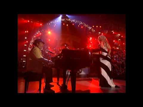 Christina Aguilera Ft  Dr John - Merry Christmas Baby Live - (2001) - Subtitulado -THQS
