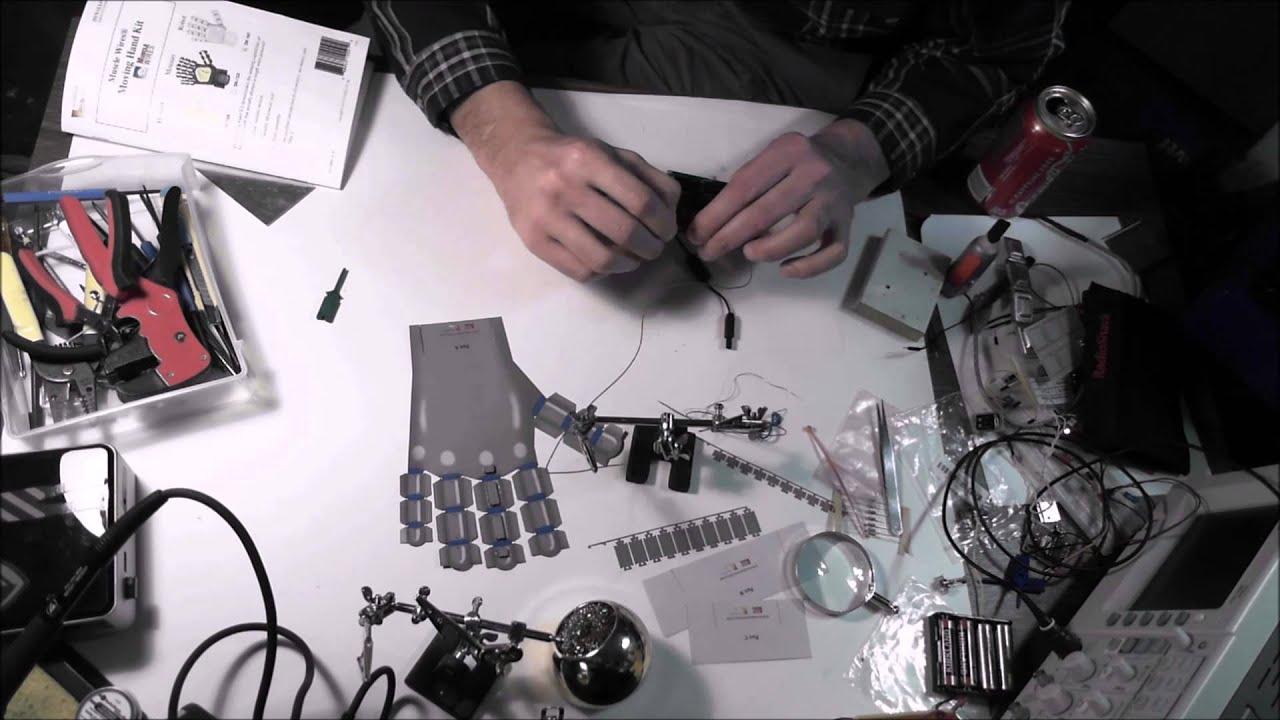 Flexinol Actuator Wire Demo - YouTube