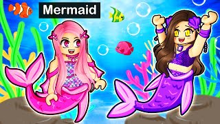Playing Roblox as a MAGICAL Mermaid!