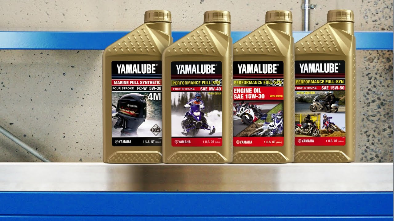 Syn Oil Yamalube Full Synthetic Engine Oils