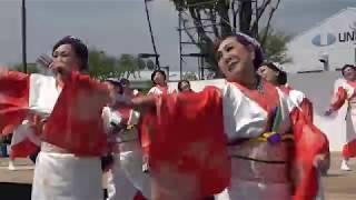 4/21富士中央公園サブステージ メンバーは静岡&山梨から参加されているとのことです.