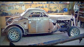 Build rat rod Rhino project from Moskvich 401