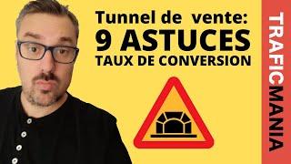 Tunnel de vente: 9 astuces pour vendre plus en automatique
