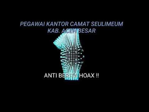 Pegawai Kantor Camat Seulimeum Kab Aceh Besar Anti Berita Hoax Youtube