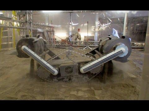 NASA's Space-Digging RASSOR Robot