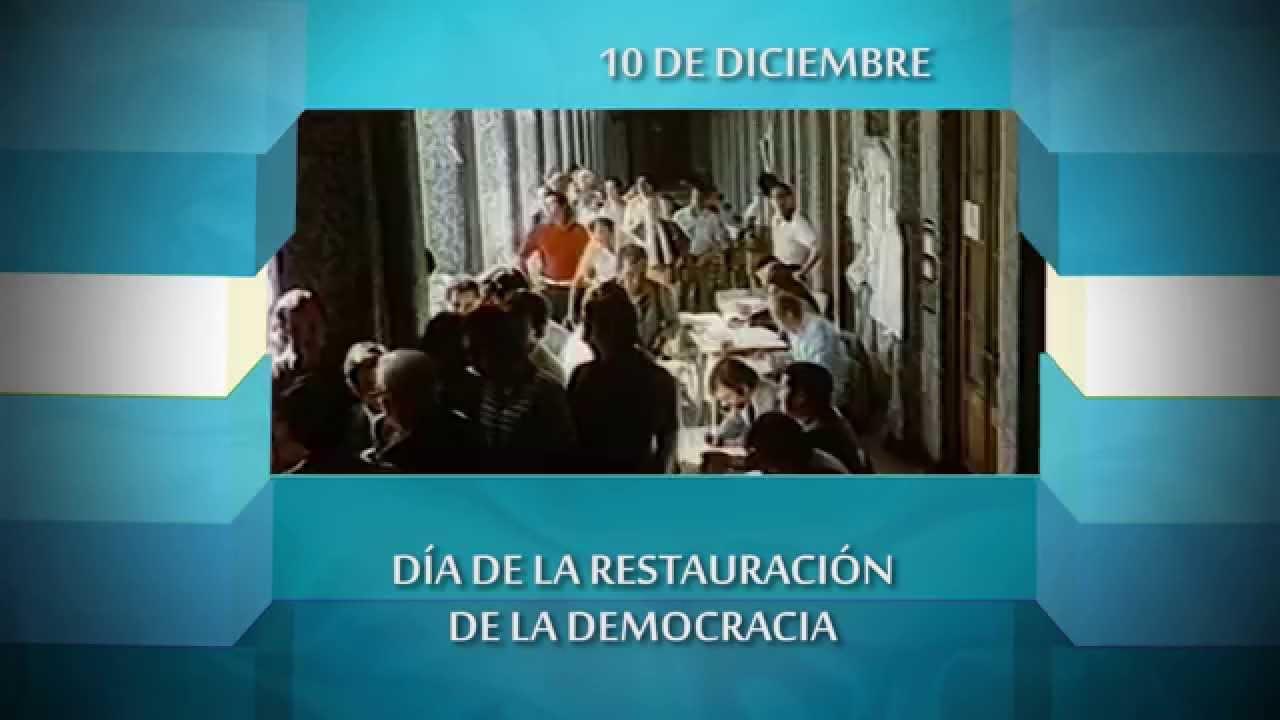 Resultado de imagen para Día de Restauración de la Democracia