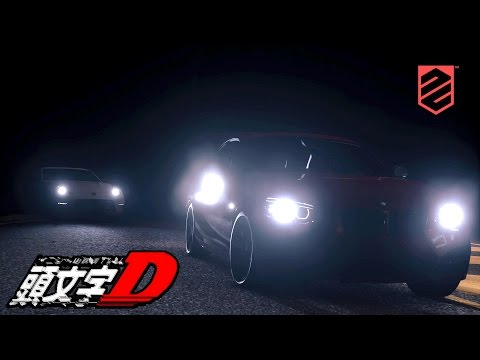 DRIVECLUB - Midnight Race(Japan) (initial D style) - Bmw vs Nissan