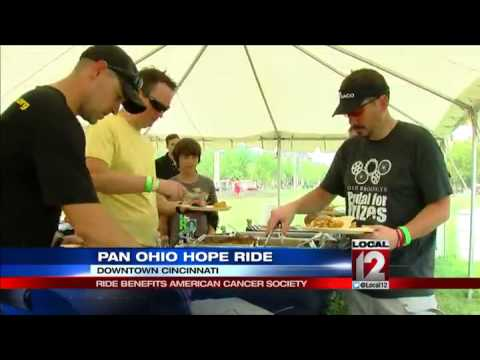 Pan Ohio Hope Ride Benefits American Cancer Society