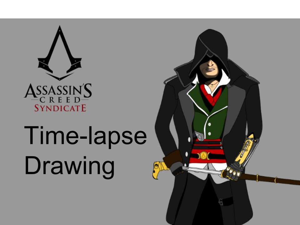 Time-Lapse Drawing - Jacob Frye - Assassin's Creed ...