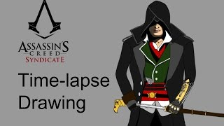 Time-Lapse Drawing - Jacob Frye - Assassin's Creed Syndicate