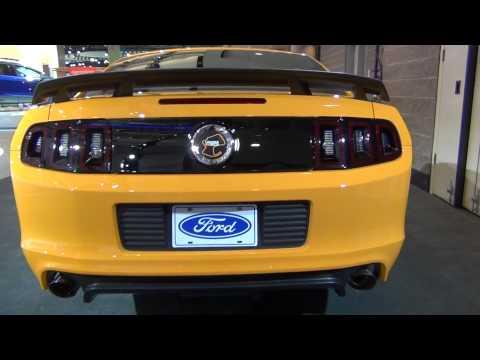 www.MOTRface.com 2013 Ford Mustang Boss 302 Laguna Seca - video 1 of 2
