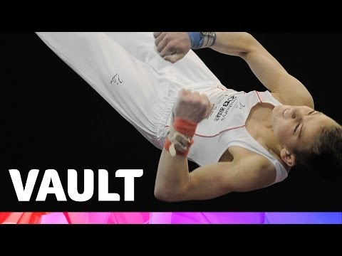 U12 Competition Men's Artistic Gymnastics - Vault