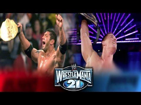 WWE WrestleMania 21 DVD Review