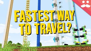 What's the Fastest Vertical Travel in Minecraft?