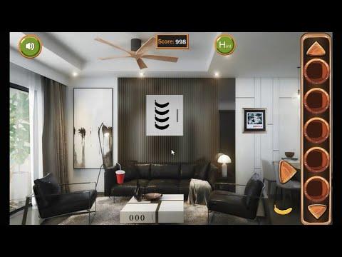 8B New Year Modern House Escape Walkthrough 8bGames. - YouTube