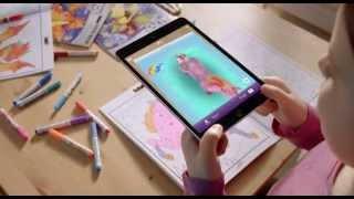 Crayola Книжки раскраски(Блокнот с драконами, принцессами или героями мультфильмов, которых можно раскрасить и оживить с помощью..., 2015-11-05T12:50:16.000Z)