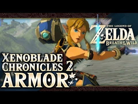 The Legend of Zelda: Breath of the Wild - Salvager Set (Xenoblade Chronicles 2) Part 70