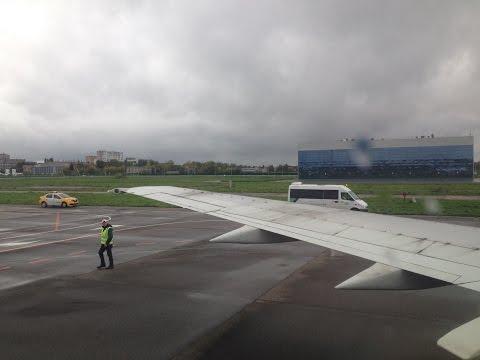 Полёт из аэропорта Жуковский в Минск / Zhukovsky - Minsk