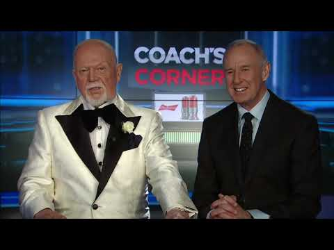 Coach's Corner: Don Cherry not impressed by Team Canada in opener 29-12-2018