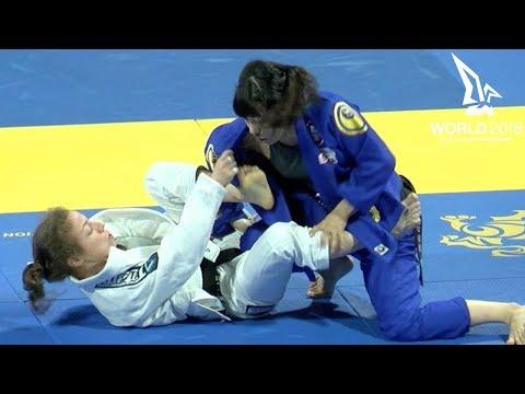 Rikako Yuasa vs Serena Gabrielli / World Championship 2018