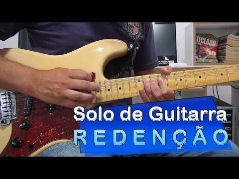 Redenção - Fernanda Brum - Solo de Guitarra com Tablatura