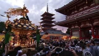 江戸三大祭りの一つに数えられている三社祭は、江戸随一の荒祭りとして...