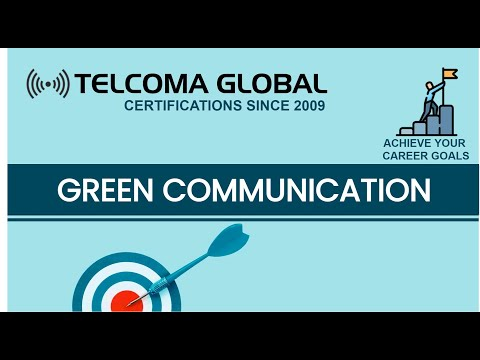 Green Communications - Wireless Telecommunication Networks By TELCOMA Global