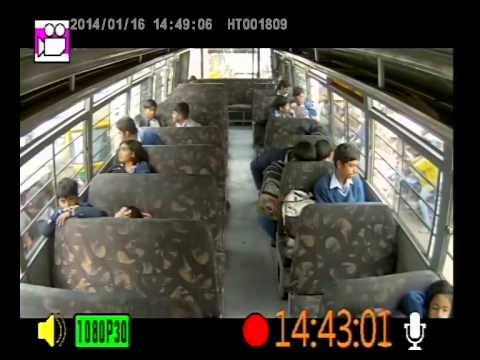 School Bus - Real Time Live Monitoring (CCTV Camera Systems)