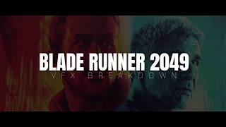 Blade Runner 2049 - Befores and afters VFX reel streaming