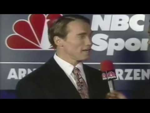 1989 Arnold Classic |  Rare interview with Arnold Schwarzenegger and Rich Gaspari