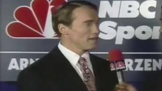 1989 Arnold Classic |  Rare interview with Arnold Schwarzenegger and Rich Gaspari