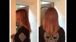 Наращивание волос для густоты или выравнивания длины.