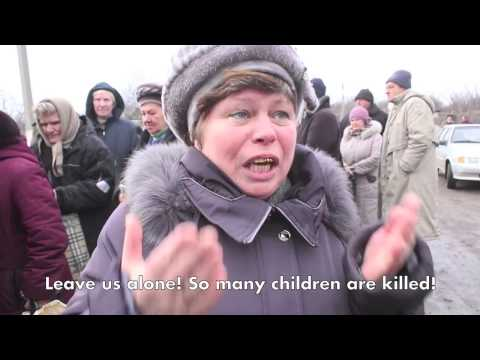Humanitarian crisis in Ukraine: ordinary people say what they think