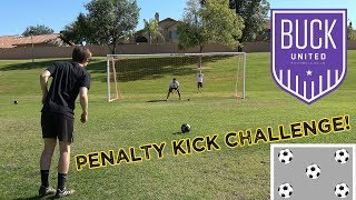 Buck United Penalty Kick Challenge! (Call Out Penalties)