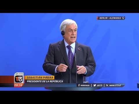 """Piñera pide que Bolivia abandone """"su absurda pretensión sobre territorio o mar"""" chileno"""
