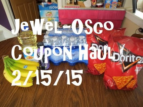 Jewel-Osco Coupon Haul 2/15/15 ~ FREE Sports Drink