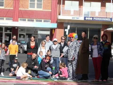 rainbow crossing in Bathurst NSW